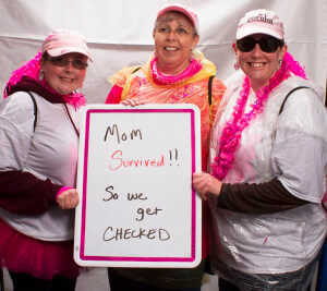 Mom Survived - So we get checked.