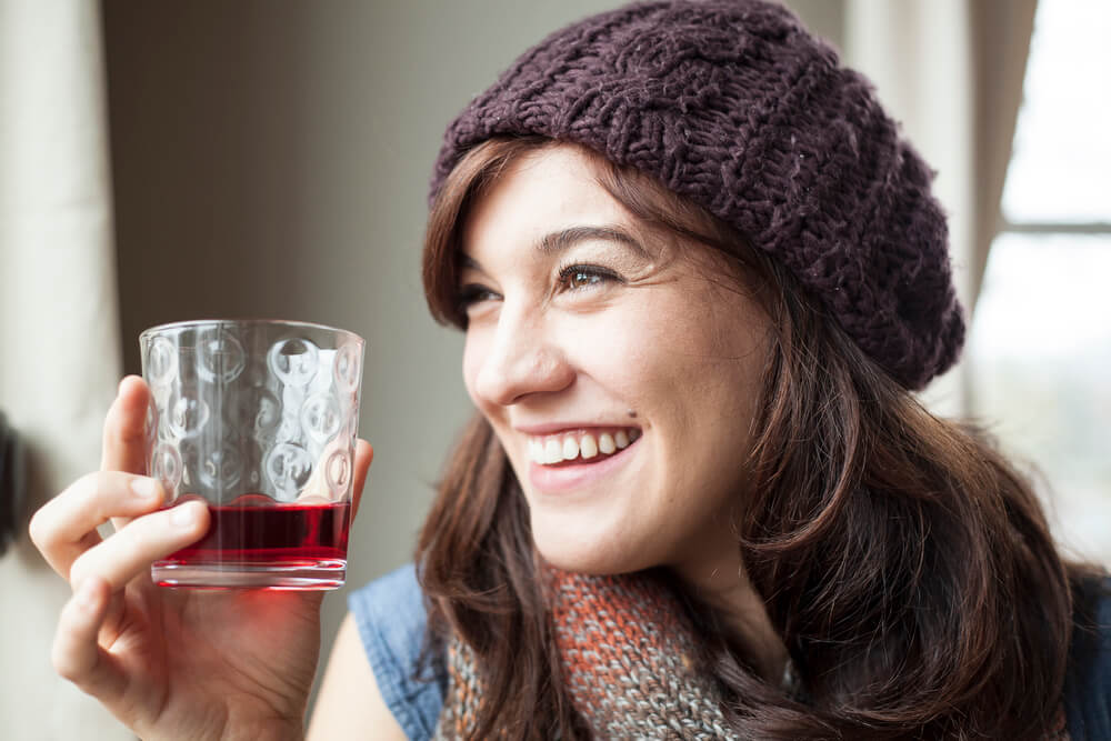 urinary tract infection - drinking cranberry juice